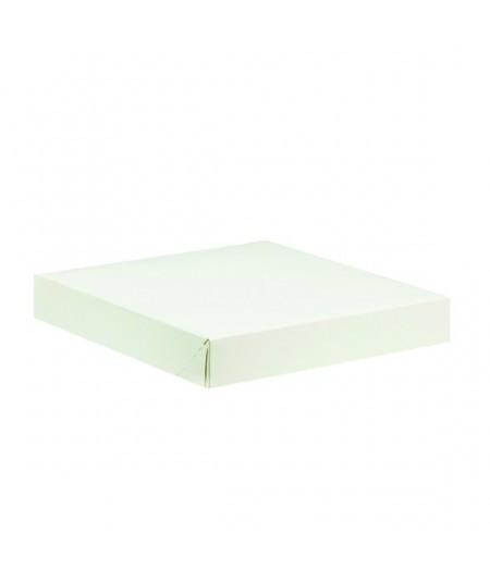 White tart box 29 x 29cm