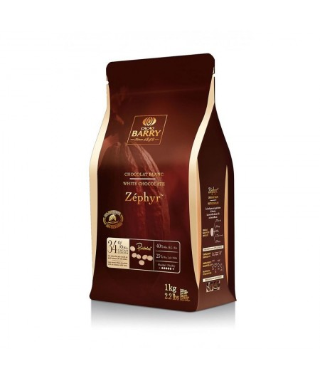 Barry - Zéphyr White Chocolate 1kg