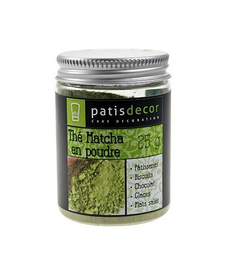 Patisdécor - Matcha tea