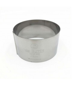 De Buyer - Stainless steel round pastry ring 8cm