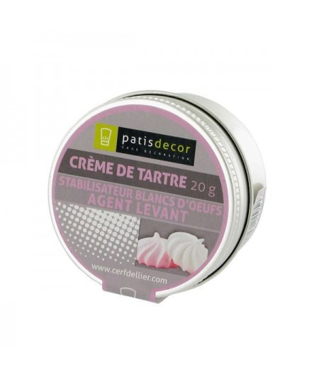 Patisdécor - Cream of tartar 20g