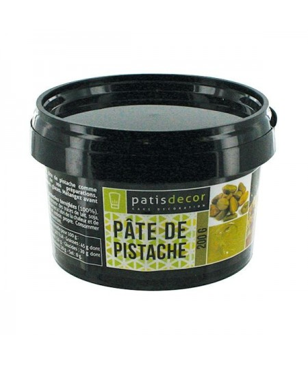 Patisdécor - Green pistachio paste