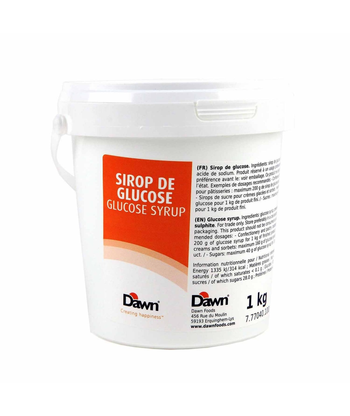 Top Cake - Glucose syrup