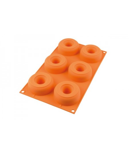 Silicone mold 6 donuts