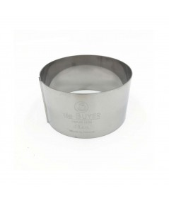 De Buyer - Stainless steel round pastry ring 6cm