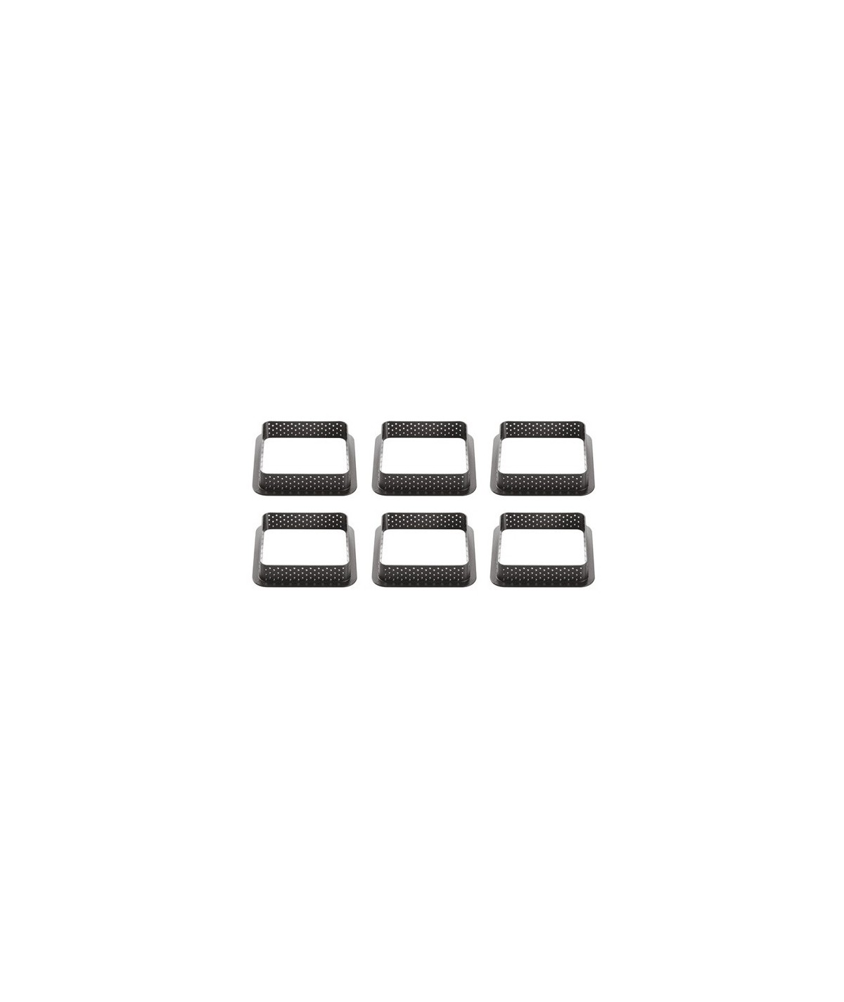 Silikomart - Tarte Ring Square 80x80
