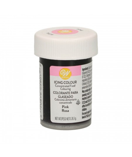 Wilton - Colorant en gel Rose