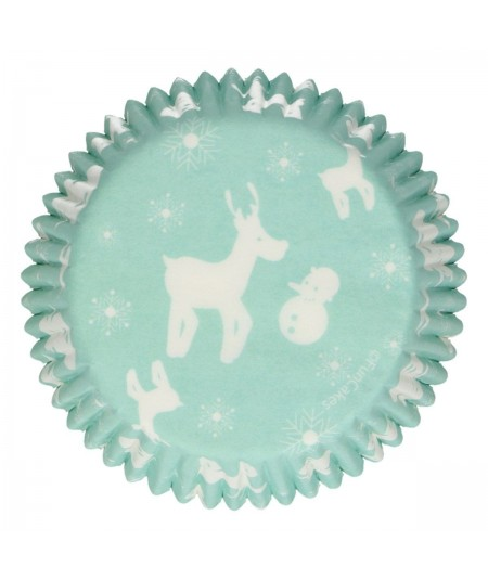 FunCakes - Baking Cups -Winter Wonderland- pk/48