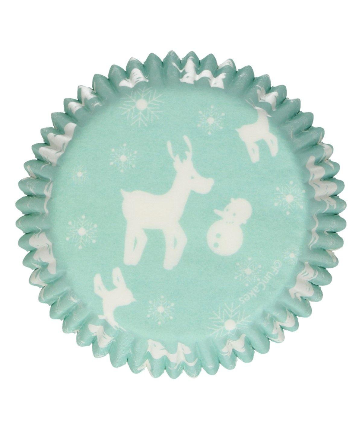 FunCakes - Baking Cups -Winter Wonderland- pk/48
