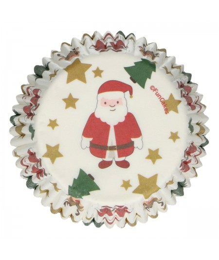 FunCakes - Baking Cups -Christmas- pk/48