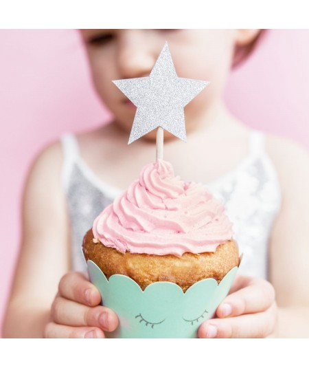 Cupcake Toppers Stars