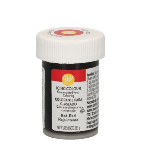 Wilton - Colorant en gel Rouge Rouge
