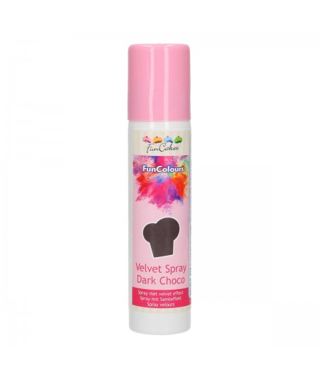 FunCakes Spray velours Noir