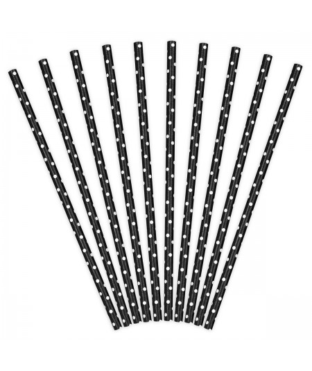 Paper Straws Black