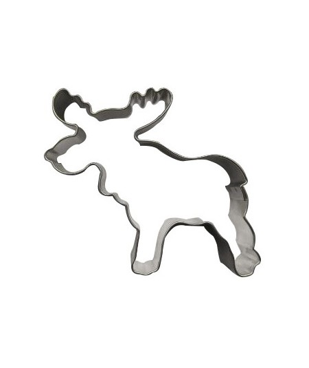 Reindeer cookie cutter 5cm