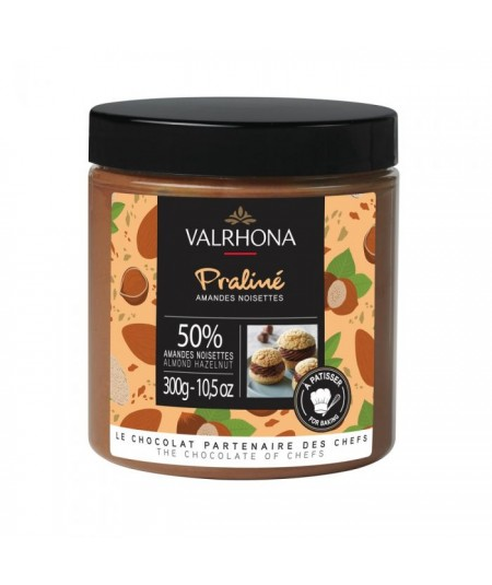 Valrhona - Praliné Fruité amandes/noisettes 50%