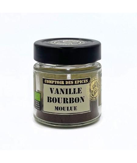 Vanille Bourbon Moulue 15g BIO