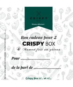 Bon cadeau 2 Crispy Box - Niveau Débutant
