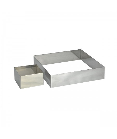 de Buyer - Square stainless steel ring 16cm
