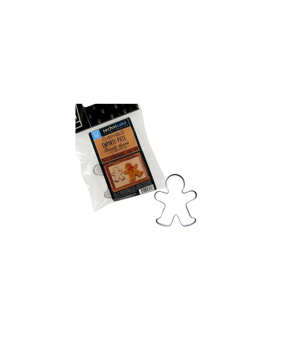 Gingerbread man cookie cutter 6,2cm