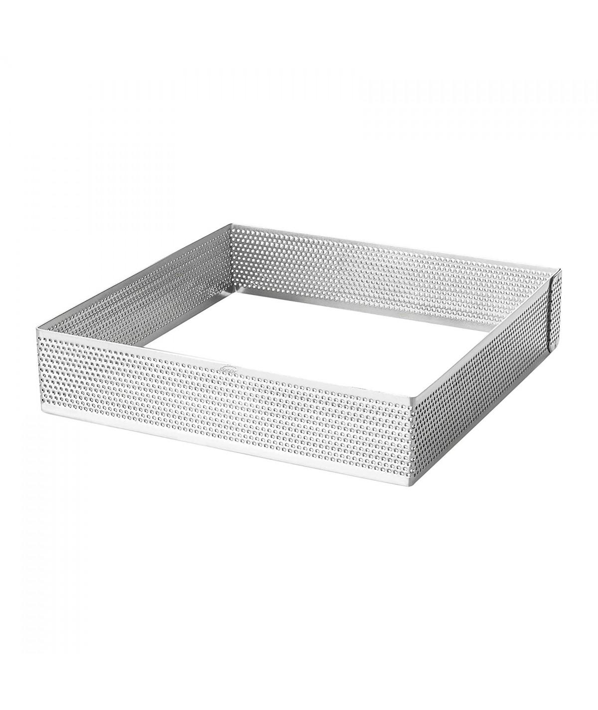 Perforated tart ring - Square 16cm