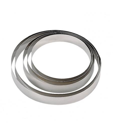 De Buyer - Cercle à mousse en inox (H 4,5cm)