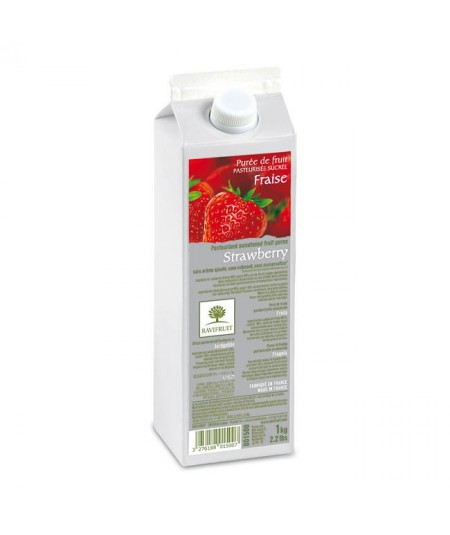 Ravifruit - Strawberry fruit puree 1kg