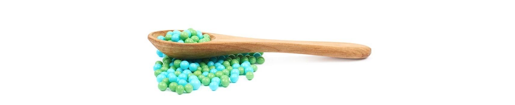 Perles et Microbilles